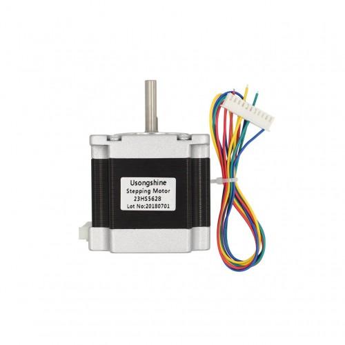 "6.35mm 1/4"" Shaft 178oz NEMA 23 Stepper Motor 4 wire 2.8A CNC Router 3D Printer [78201]"