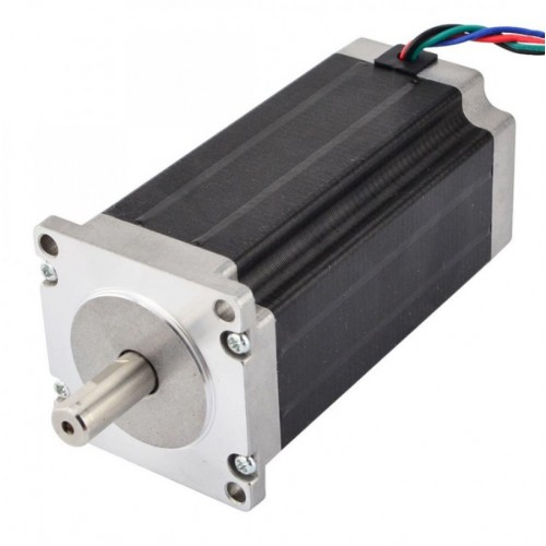 Nema 23 Stepper Motor 10mm Shaft CNC Mill Lathe Plasma Router [78212]
