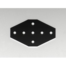 7 Hole Cross Joining Plate 2020 V-slot Aluminum Profile CNC 3D Printer 100X60 [78305]
