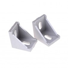 2020 Cast Aluminium V-Slot Extrusion L Shape Corner  Right Angle Bracket [78302]