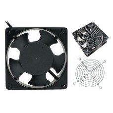 Metal Frame Fan - ACC 200-240V - 120 x 120 x 38mm [78319]