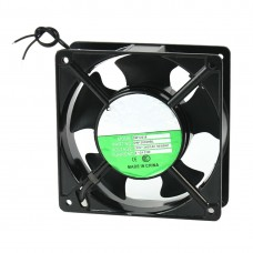 120x120x38mm 5 Blades Metal Frame Axial Flow Cooling Fan AC 220/240V 0.14A [78101]