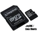 16GB MicroSD Card installed with Linux Ubuntu and myCNC Software