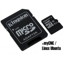 16GB MicroSD Card installed with Linux Ubuntu and myCNC Software [78401]