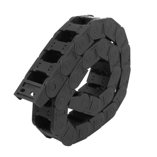 1 meter Black Cable Wire Carrier Drag Chain Nested 25mm x 38mm CNC Automation [78301]
