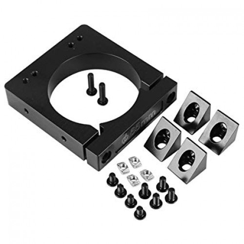 Aluminum Router Spindle Mount Kit 65/71mm for CNC Router Engraving Machine [78306]