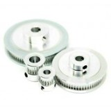 GT2 6mm Timing Belt Drive Pulleys - 16 20 30 36 40 60 80 Tooth - 5 to 12mm Bore [78205]