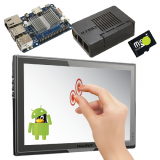 """Odroid C1+ Android 10"""" Touchscreen Bundle [77102]"""