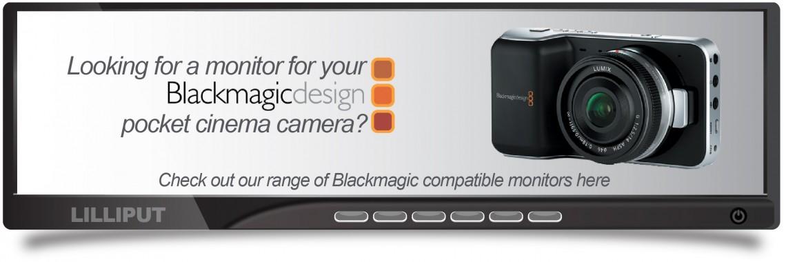 Black Magic Monitors