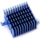Odroid 40 x 40 x 25 mm Tall Blue Heat Sink [77416]