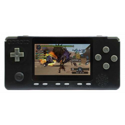 ODROID-GO Advance Black Edition schwarz Spielekonsole Kit