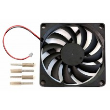 ODROID 80x80x10.8mm cooling fan with 2pin connector for N2+ (77819)