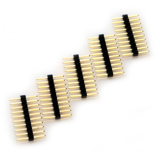 ODROID 10pin male header for ODROID-GO - Pack of 5 [77913]