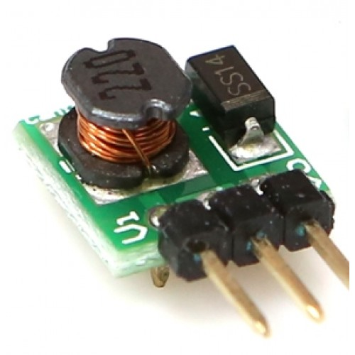Step Up DC to DC - Input 0.9-5V, Output 5V [77918]