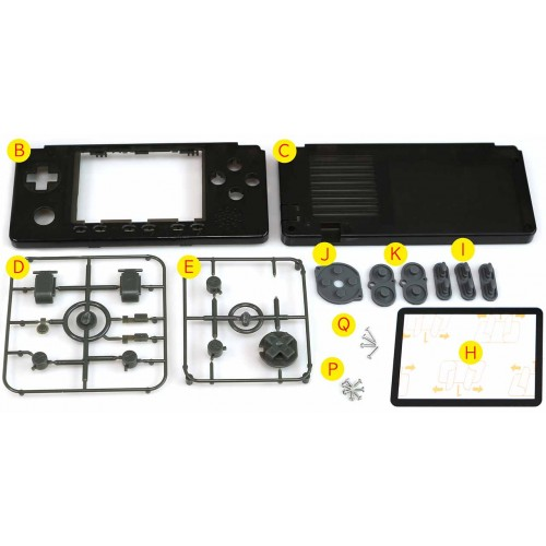 Cases, Buttons Kit for ODROID-GO Advance BE [80005]